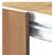 Afrok / Podiumrok (hout, stof, full color bedrukt plastic)